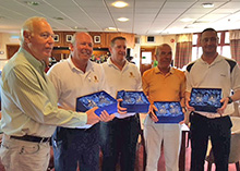 Horsehay Village Golf Club Gents 2nd in Shropshire Star Team Trophy